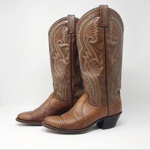 Vintage Dan Post Cowgirl Boots
